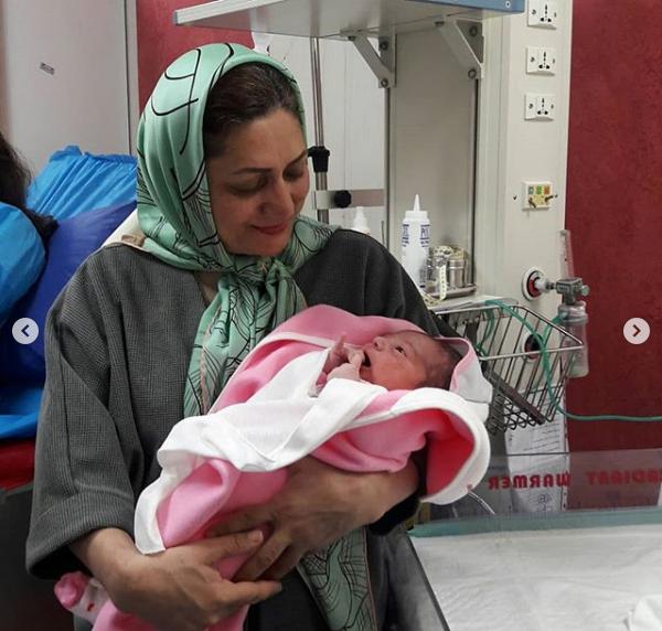 نوزاد و دکتر ماریا حجازی